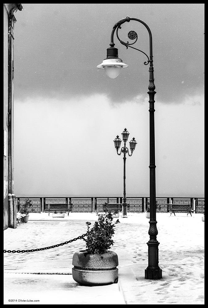Lampioni sotto la neve by OliverJules