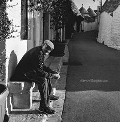 Old Man in Alberobello
