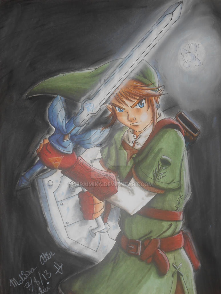 Link from Twilight Pricess by MiraiMika