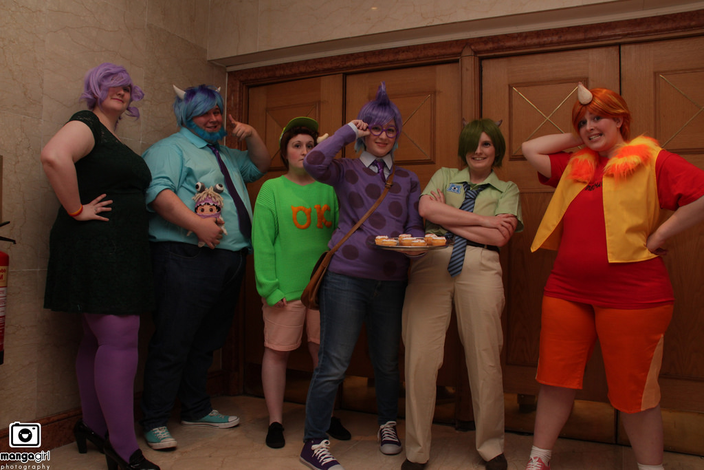 The team - Monsters Inc by Freyarule on DeviantArt