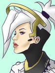 Mercy~ Overwatch by xLoloChan