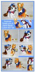 MLP ToMI: Elaine + Guybrush by RadiantGlyph