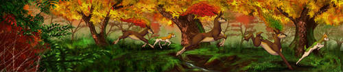 Changing Seasons - [Commission] by RadiantGlyph