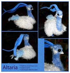 Plush - Altaria by RadiantGlyph