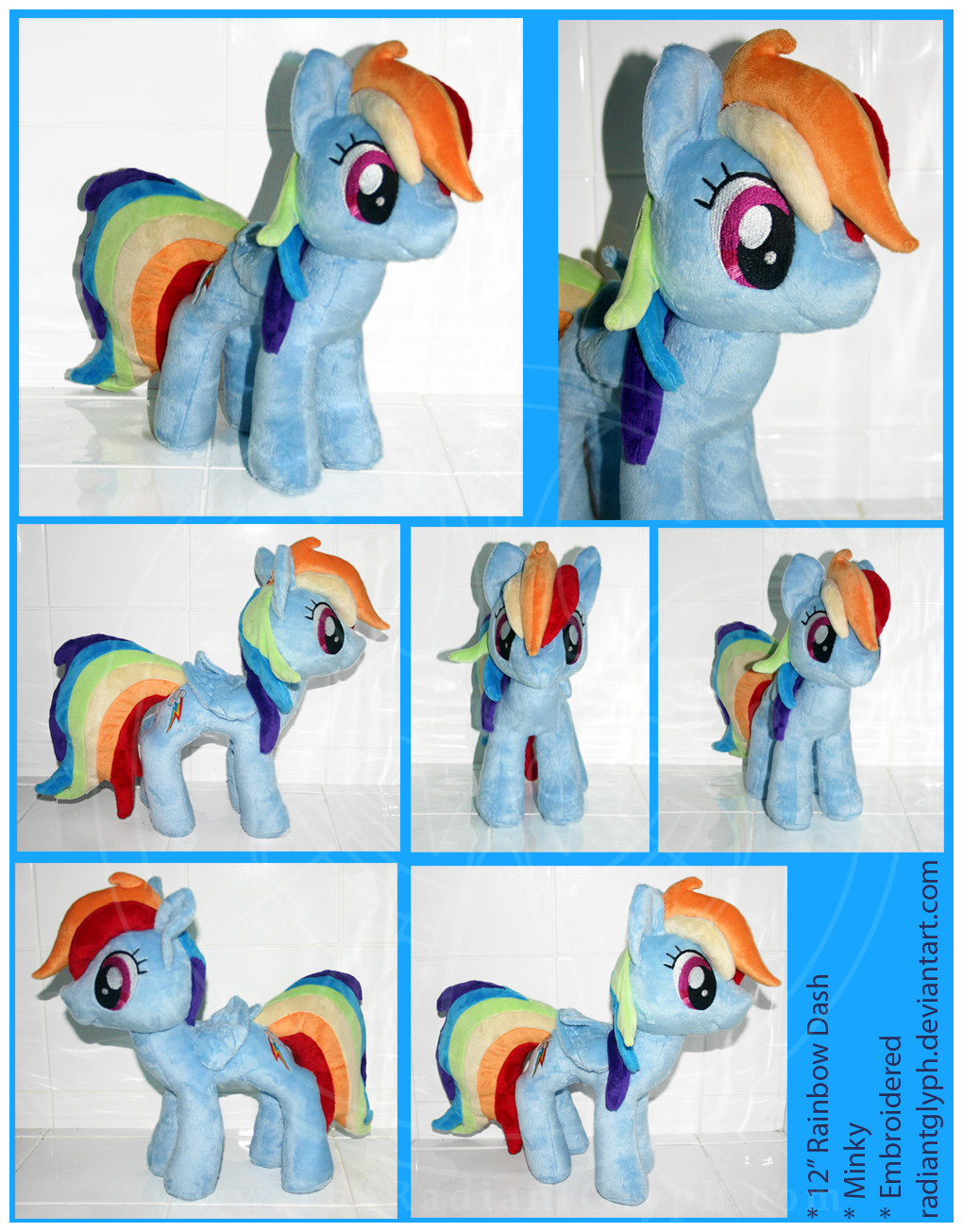 Plush - Rainbow Dash by RadiantGlyph