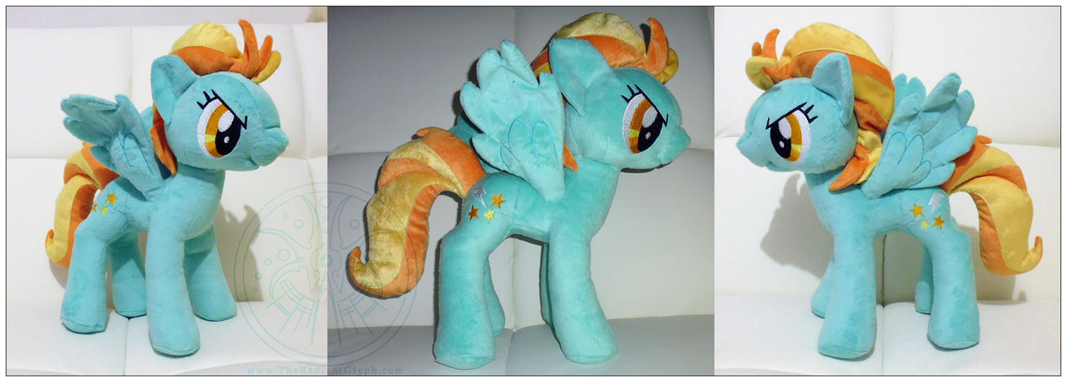 Pony Plush - Lightning Dust by RadiantGlyph