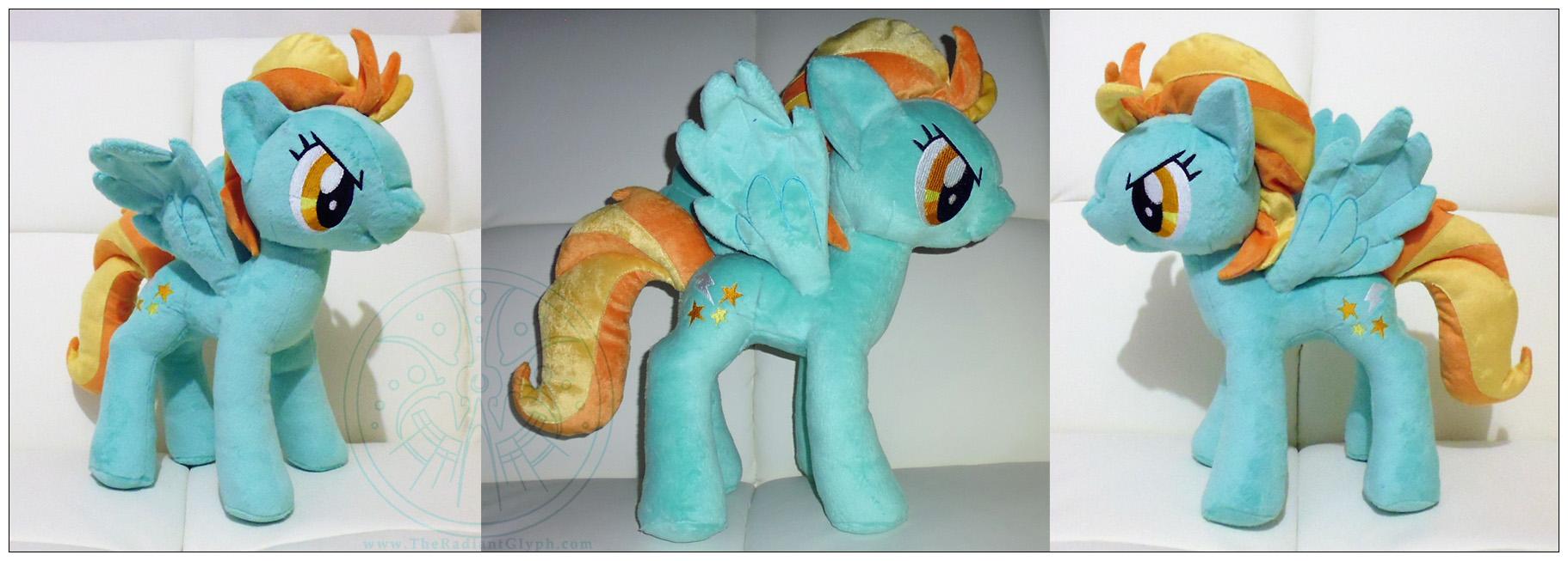 Pony Plush - Lightning Dust by RadiantGlyph