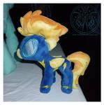 Pony Plush - 'Minibolt' Spitfire