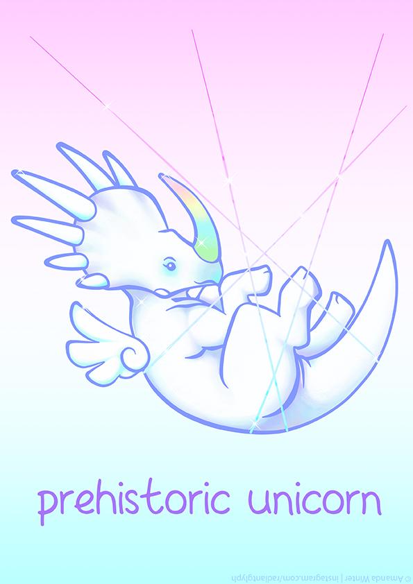 Prehistoric Unicorn (Styracosaurus) by RadiantGlyph