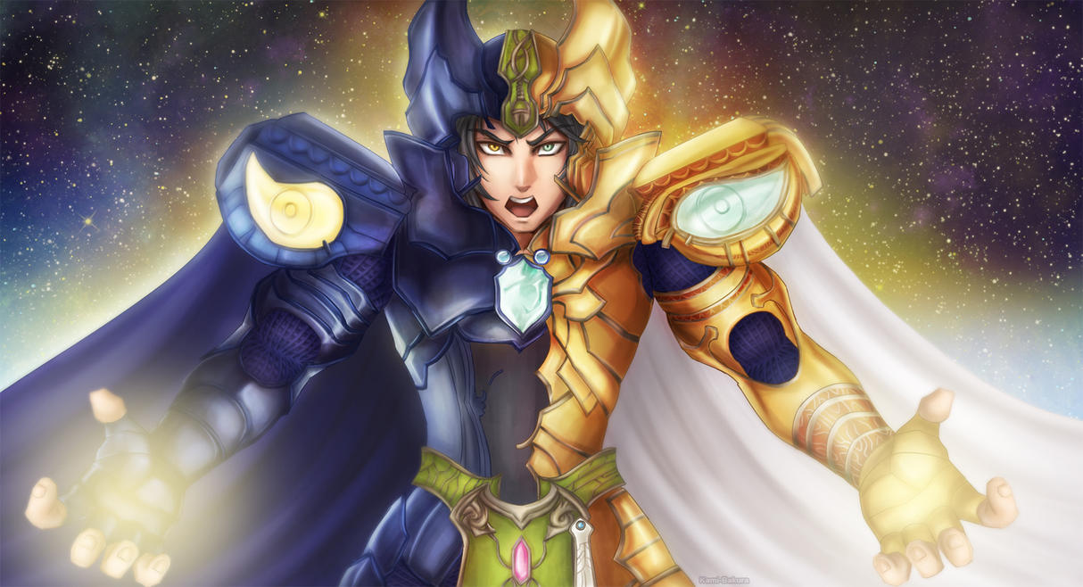 Saga - Saint Seiya Legend of Sanctuary by kami-bakura