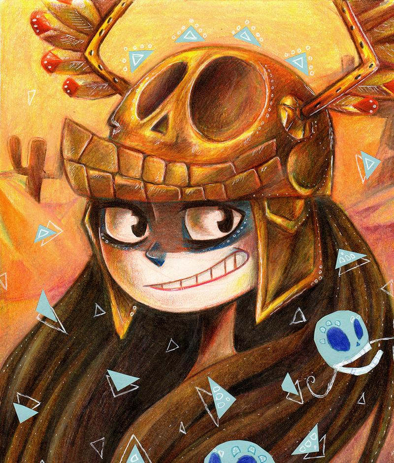 Princess of Fiesta de los Muertos by maxyvert