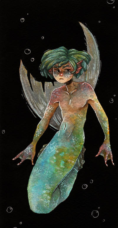 Merman by maxyvert
