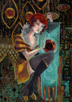 Red and Transistor