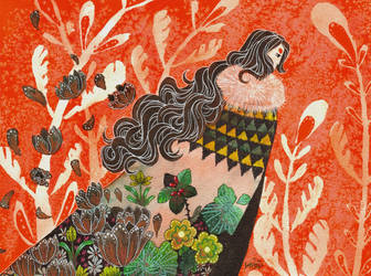 Folktale week Witch by maxyvert