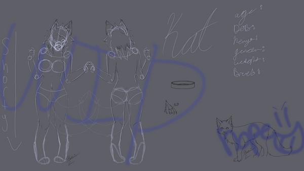 Kat Reference WIP by IkariK