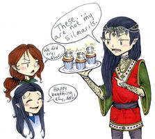 Feanor's Begetting Day by avi17
