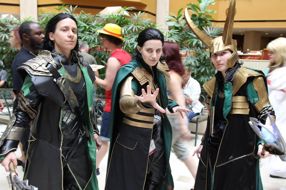 Loki Trio by avi17