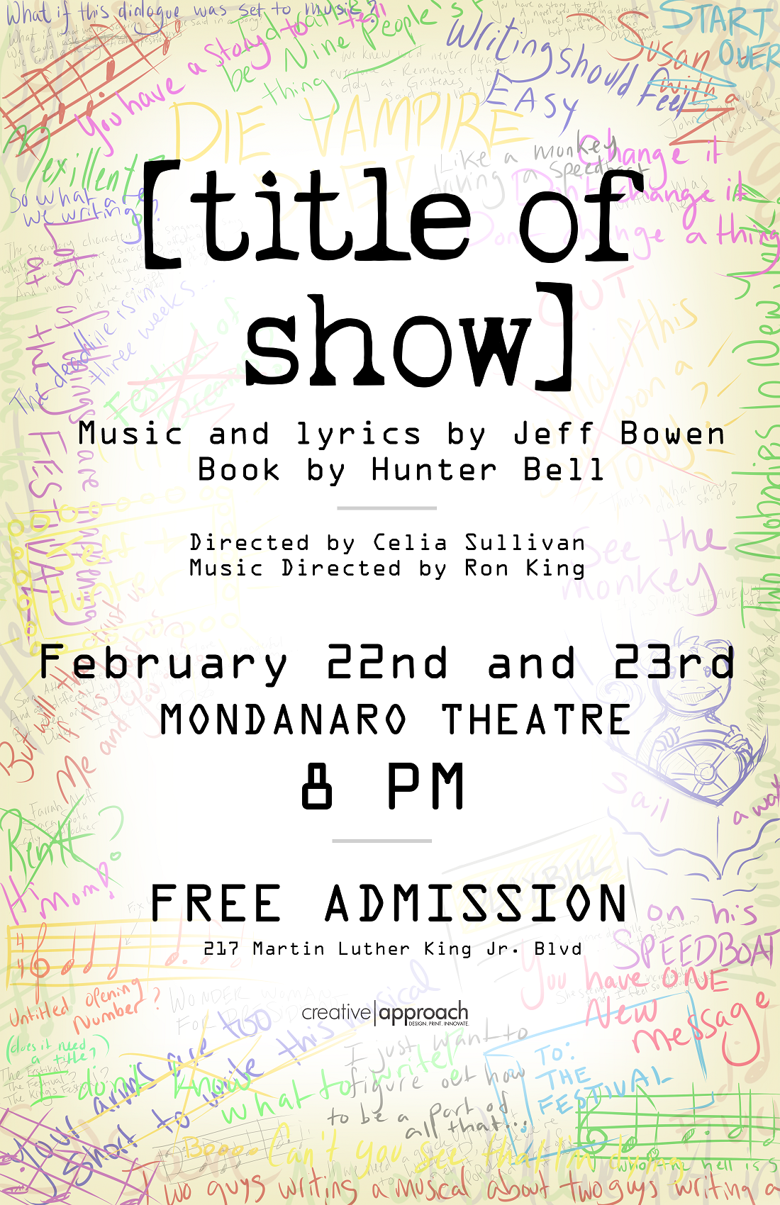 Of Show Poster Design By Avi17