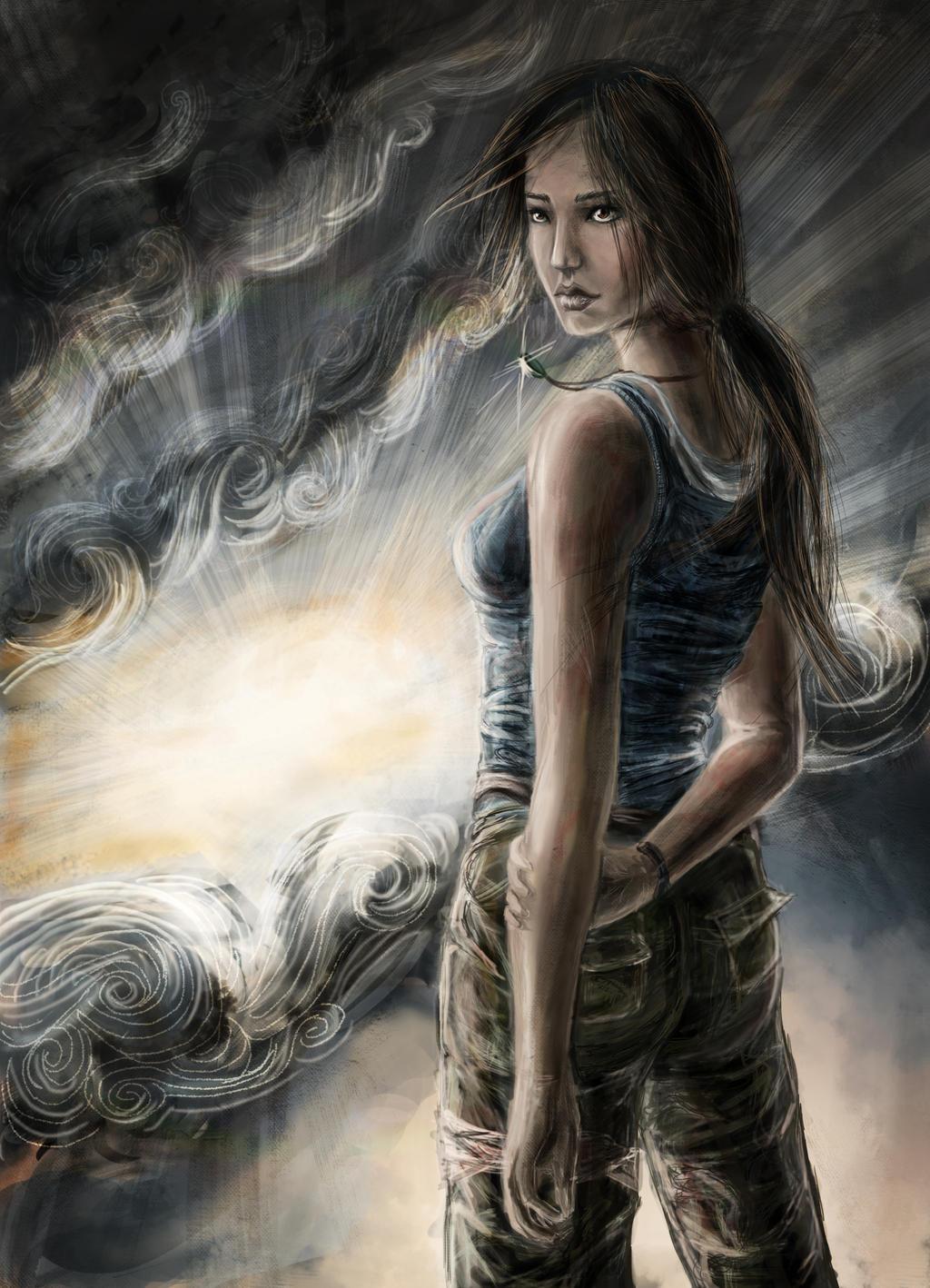 Lara Croft - Reborn by Estelinakina