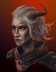 Qunari female by ANeDe