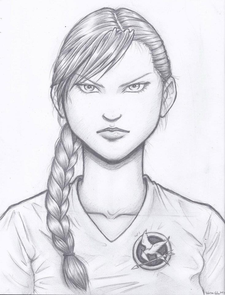 Katniss by Fatalist555