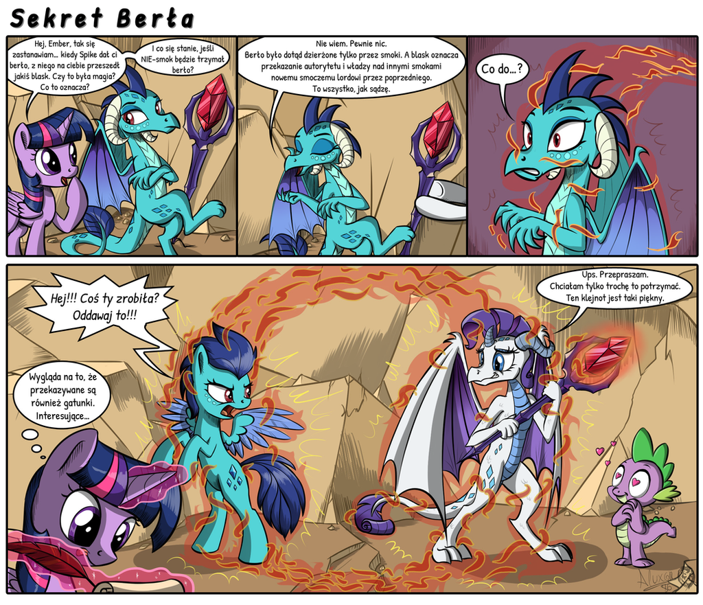 Sekret berla (Secret of the Scepter PL) by Lyokoheros