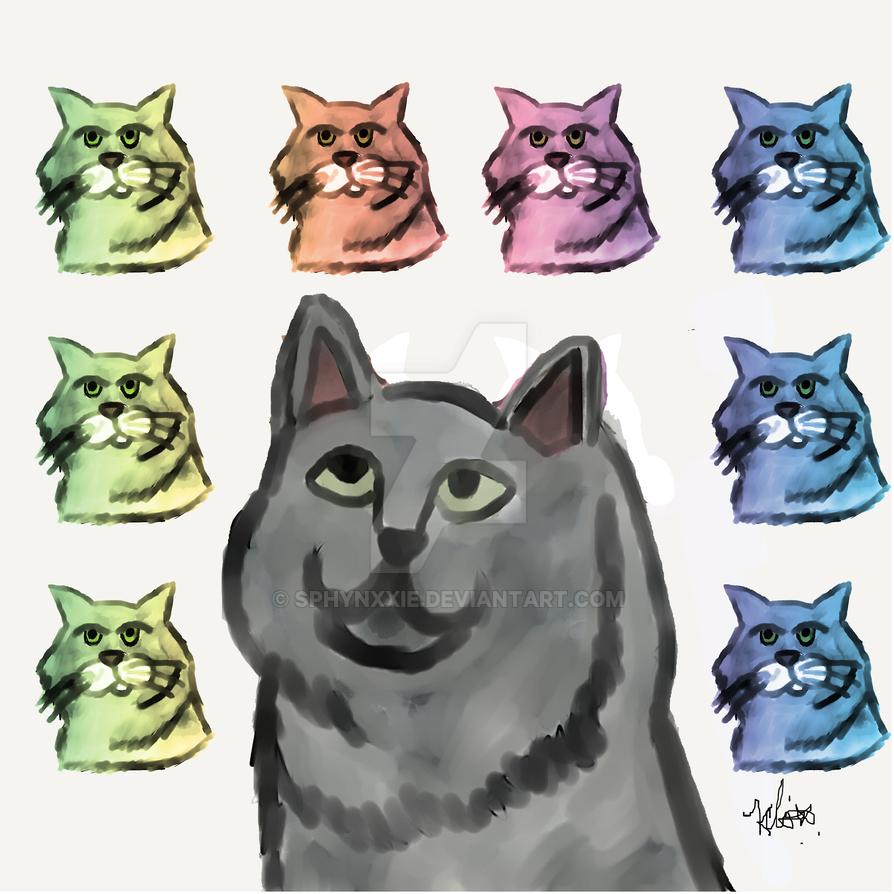 Pop Cat by Sphynxxie