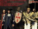 We Are Templars cross over by alexasnow