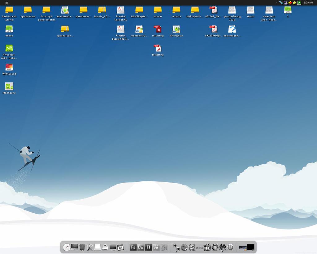 My Desktop - 27-09-2007 by UniDesignStudio