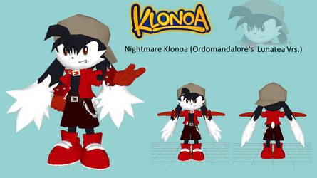Nightmare Klonoa - Custom 3D Model (My Version) by OrdoMandalore