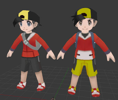 Ethan / Gold (Omega Ruby / Alpha Sapphire style)