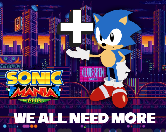 Sonic Mania Plus (Jedi Academy Plus Parody) by OrdoMandalore