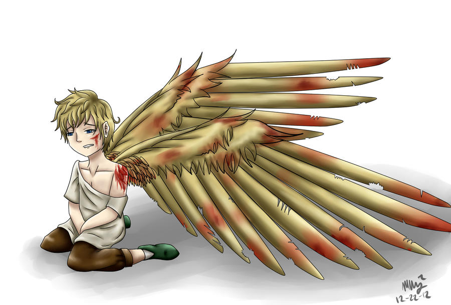 APH Wingtalia!- Hurting Yet Again by RavenWingsFly