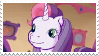 G3 Sweetie Belle stamp by ColossalStinker