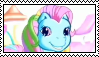 G3 Rainbow Dash stamp by ColossalStinker