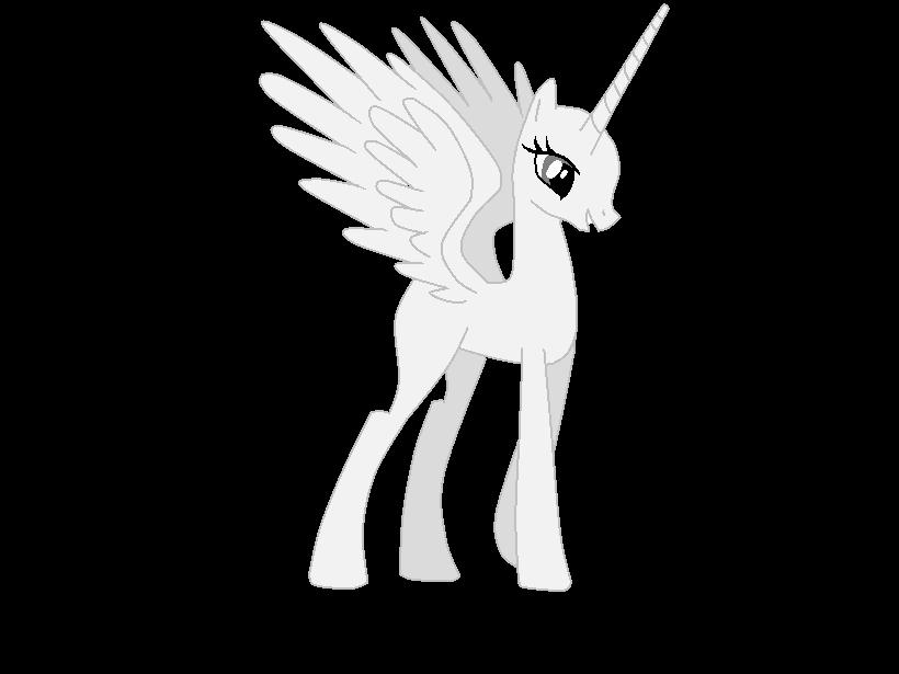 Princess Celestia Base By AdolfWolfed4Life On DeviantArt