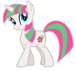 Twilight Sparkle in Blossomforth's colors