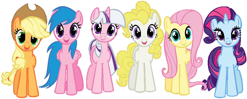 mane_6_in_g1_colors_by_doublevtovka22-d5