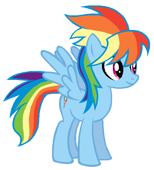 Cloudchaser in Rainbow Dash's colors by AdolfWolfed4Life ...