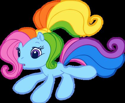 G3.5 Rainbow Dash trace