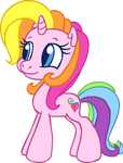 G3 Rarity in G3.5 style by ColossalStinker