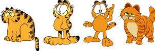 Garfield traces by ColossalStinker