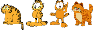 Garfield traces