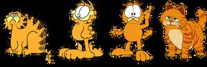 Garfield traces