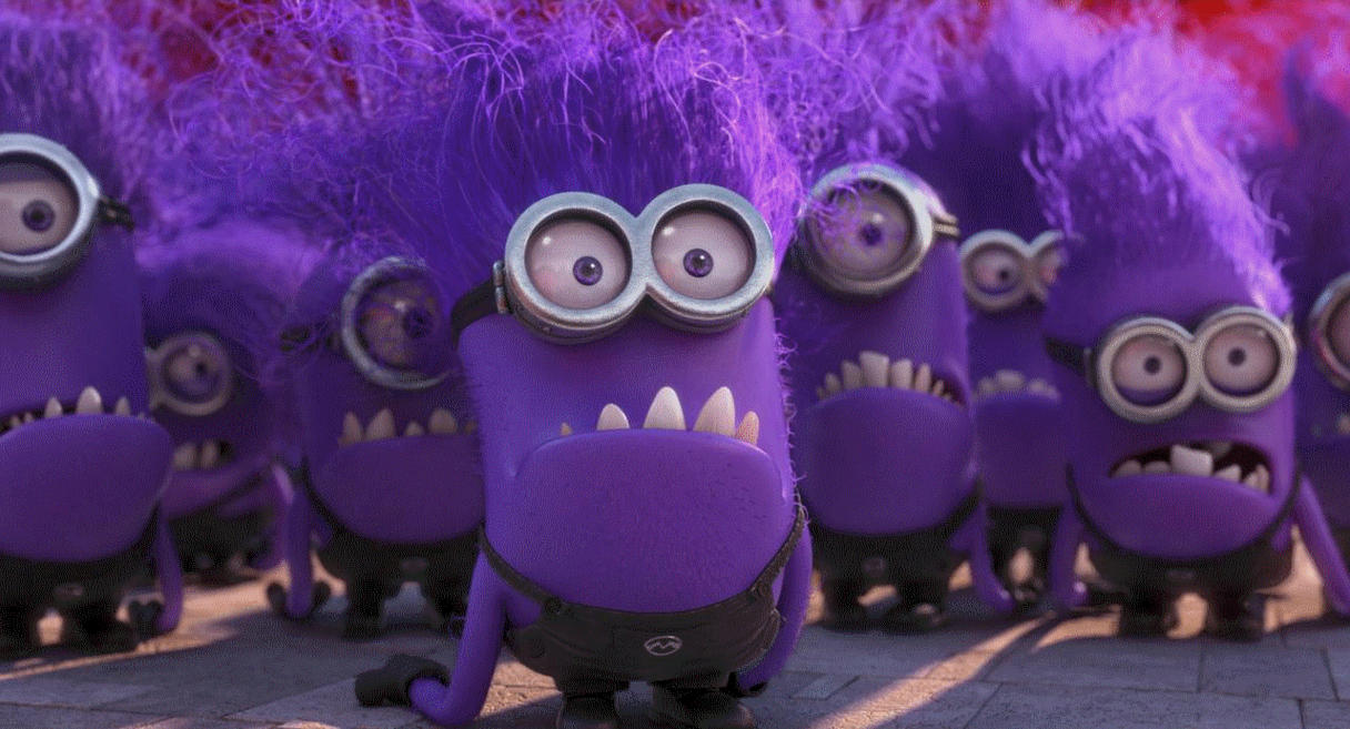 Despicable Me 2 gif - Evil minion yells by Nutty-Nutzis on ... | 1215 x 657 jpeg 73kB