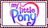 G3 My Little Pony logo stamp