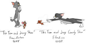 Tom and Jerry 1975 and 1980 shows