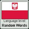 Polish language level - Random words by AdolfWolfed4Life