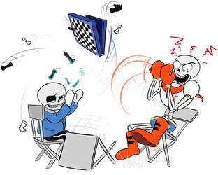 Chess rage quit by Stinkek