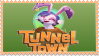 Tunnel Town stamp by ColossalStinker